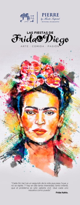 Frida y Diego 70cm x 180cm