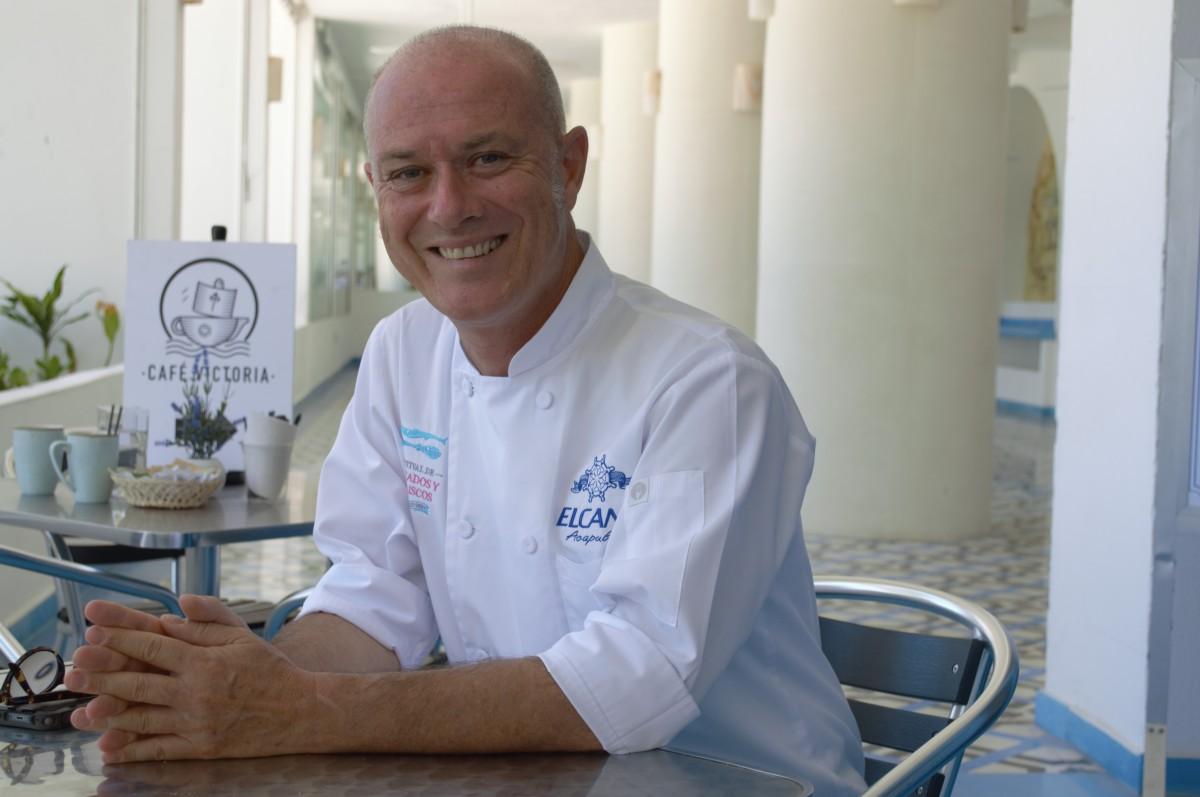 El Chef Jorge Pereiro, un español con el corazón en Acapulco.