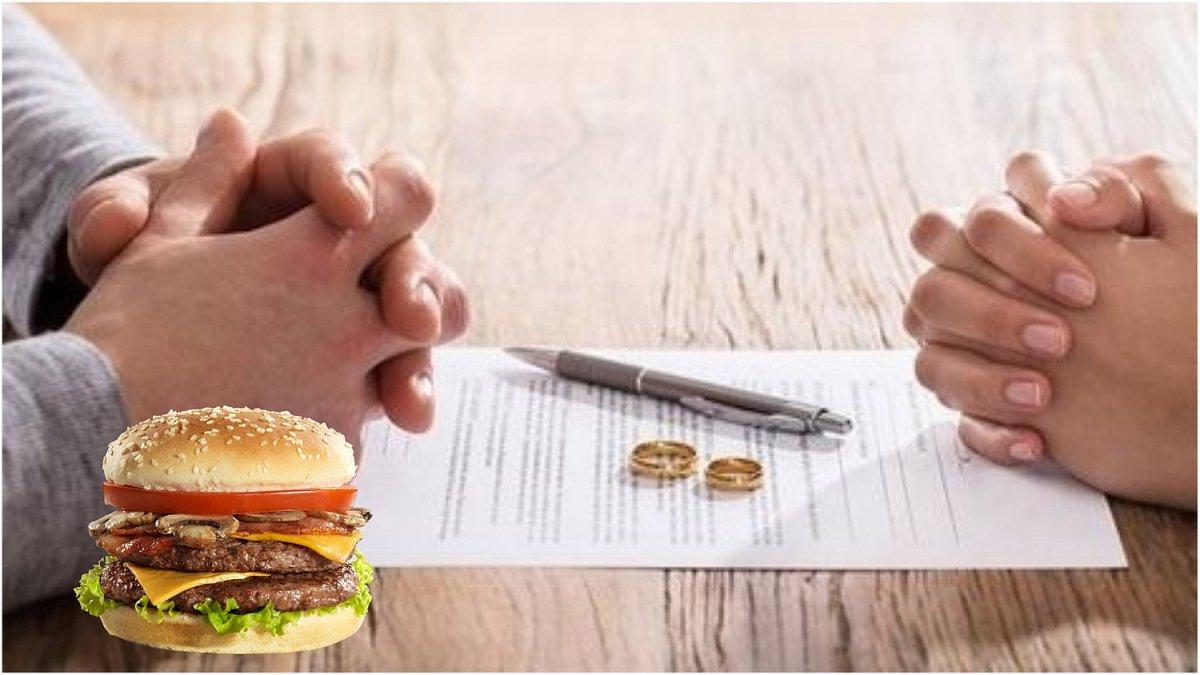 Una mujer le pide el divorcio a su marido porque ¡se le olvidó llevarle su  hamburguesa! – Menú Acapulco